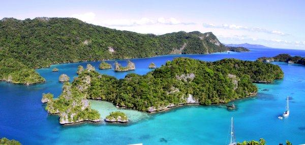 L'isola di Qilaqila nelle isole Lau